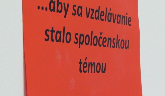 Workshop v Banskej Bystrici 4. 6. 2014