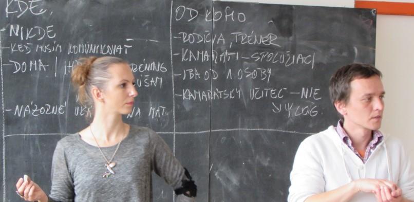 Workshop v Žiline 2. 10. 2014