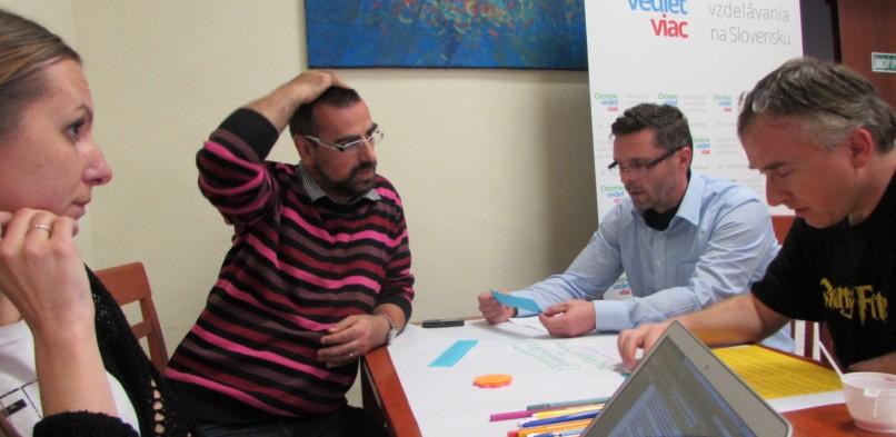 Workshop v Rožňave 4. 11. 2014