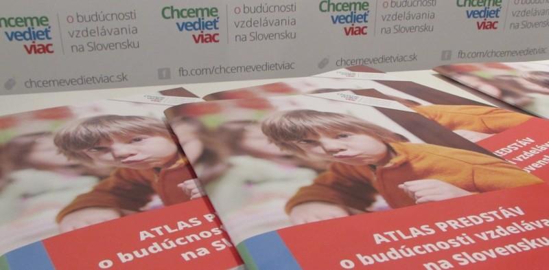 Atlas predstáv o budúcnosti vzdelávania na Slovensku
