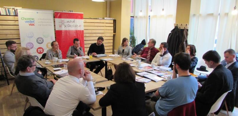 Okrúhly stôl na tému Príprava na svet práce