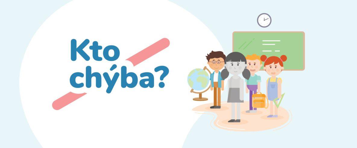 Viac informácii o projekte na podporu inkluzívneho vzdelávania nájdete na ktochyba.sk