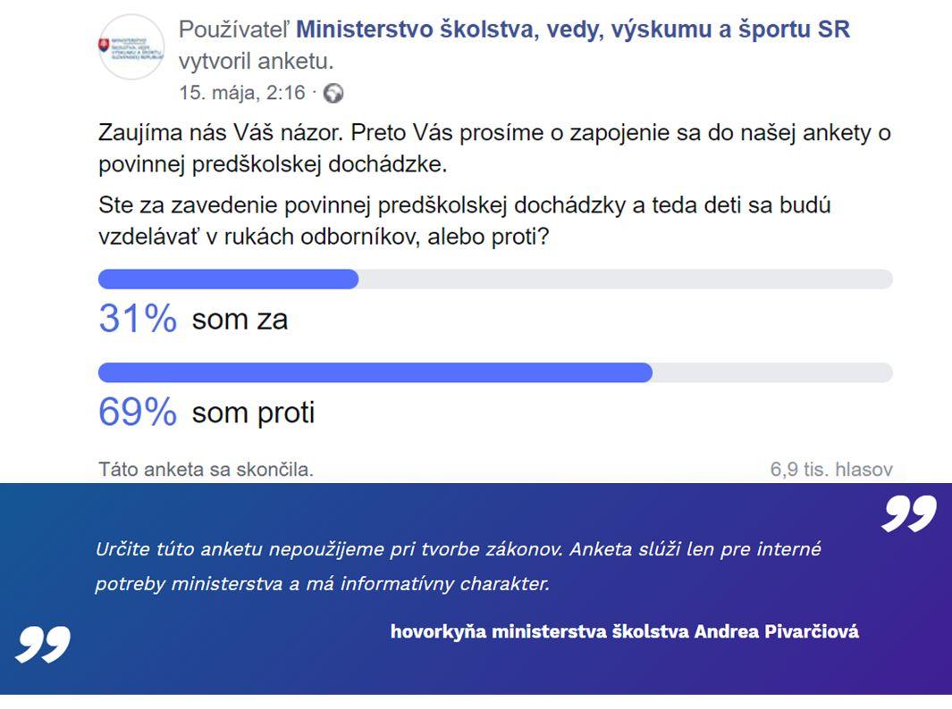 O školstve a vzdelávaní sa diskutuje v Česku aj na Slovensku. Prístup nášho ministerstva je ilustrovaný vyššie, prístup spoza rieky Moravy nižšie…