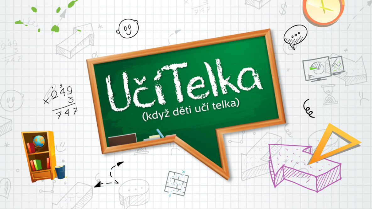 Kým ČT promptne zareagovala na zatváranie škôl zaradením nového programu pre deti UčíTelka, RTVS reprízuje seriál Spadla z oblakov a nechýba ani Repete a Peter Stašák | Foto – Česká televize
