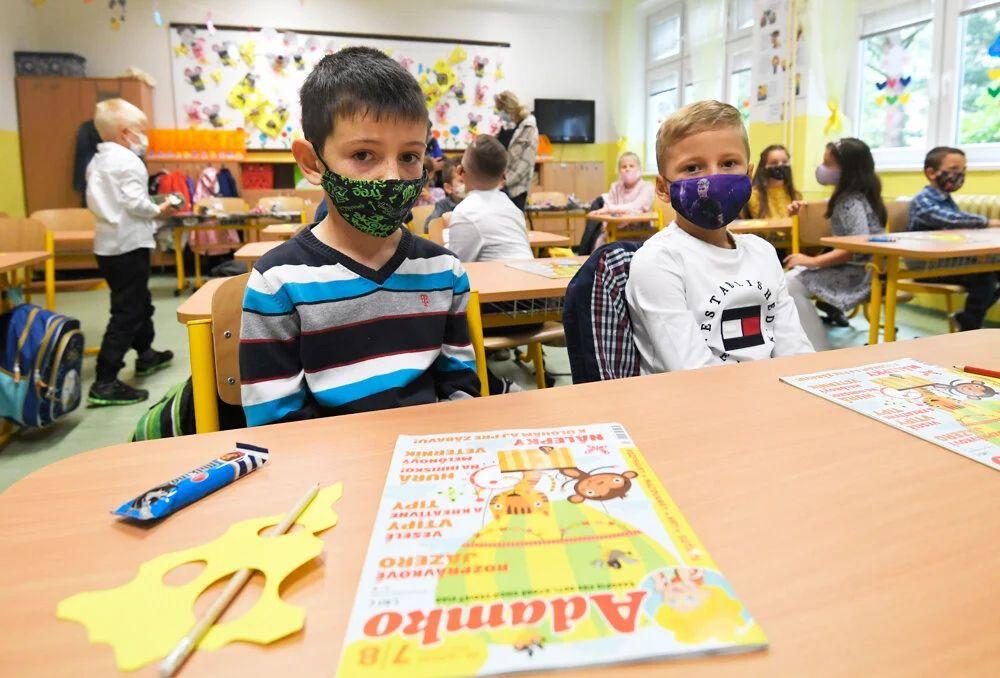 Otvorenie školského roka na Základnej škole Hroncova 23 v Košiciach | Foto – TASR